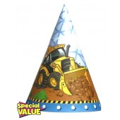 Ultimate Construction Party Hats