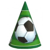 3 D Soccer Party Hats