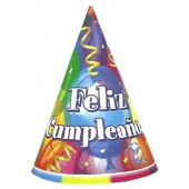 Feliz Cumpleanos Party Hats