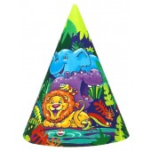 Smiling Safari Party Hats