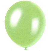 Mint Green Sapphire Blue Pearlized Balloons