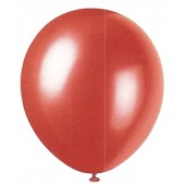 Frosted Red Pearlized Balloons