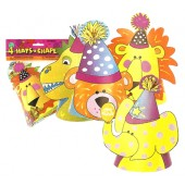Animal Party Hats Assorted
