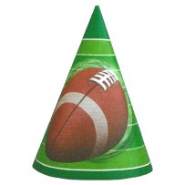 Football Spiral Party Hats