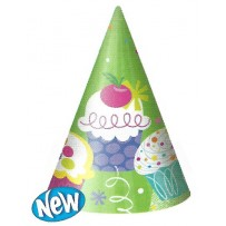 Cupcake Party Party Hats