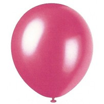 Frosted Rose Pearlized Balloons