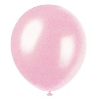 Rose Pink Pearlized Balloons