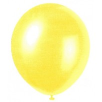 Golden Yellow Pearlized Balloons